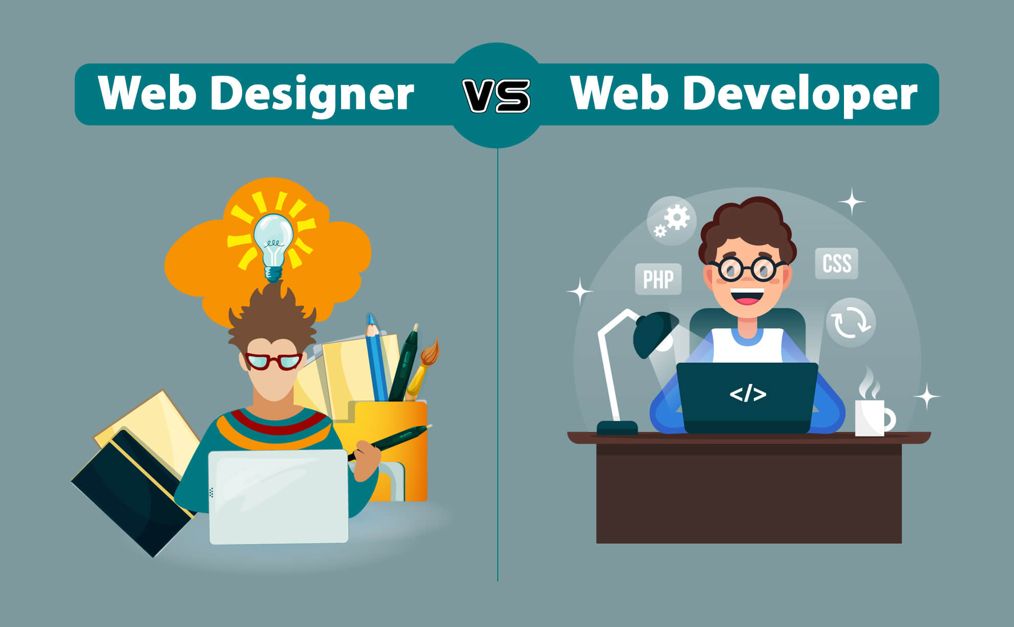 What Are The Differences Between Web Developers And Web Designers