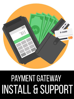 payment gateway installation and support