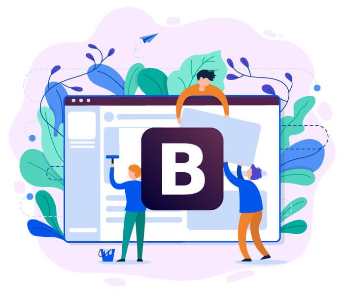 bootstrap website designing