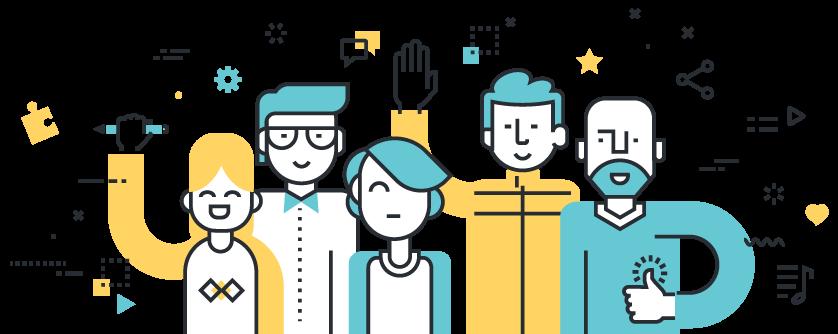 business website designing team