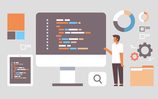 javascript based website development