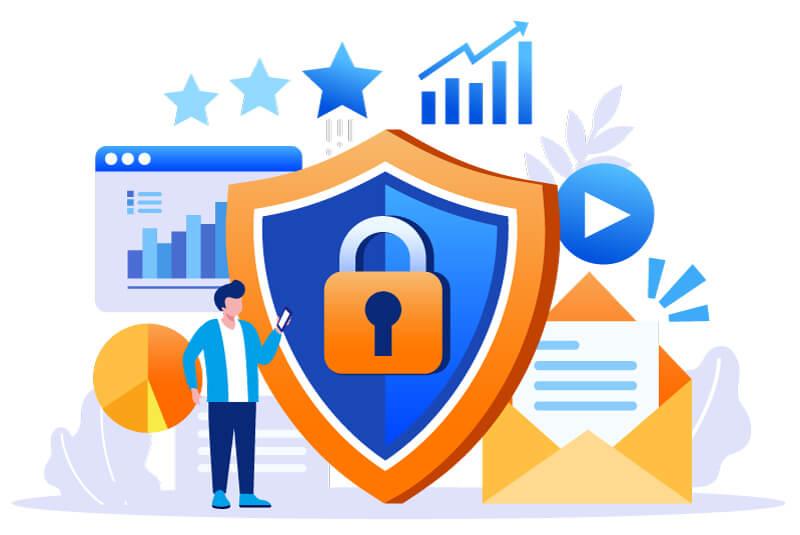 custom website design security