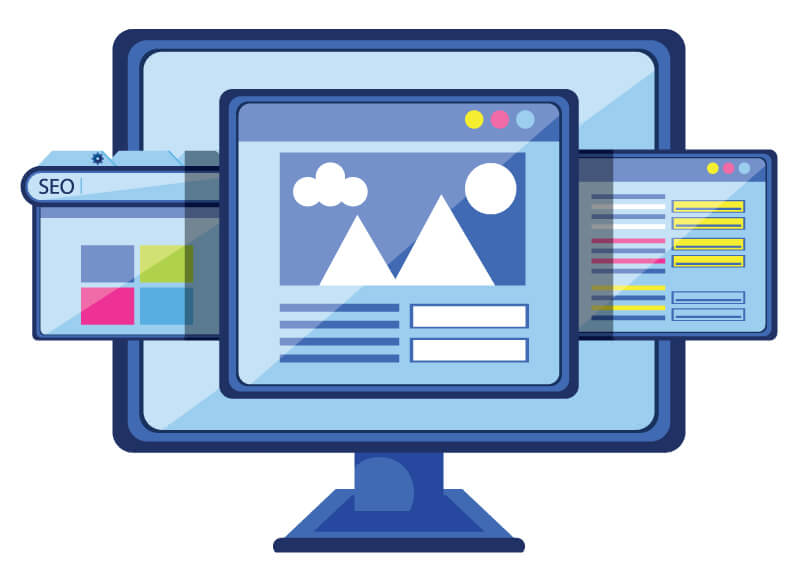 highly optimized custom website development