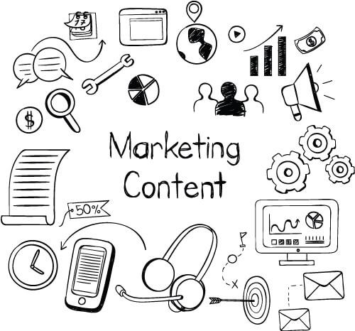 organic digital marketing via content